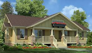 plan 92068vs 3 bed craftsman ranch with sundeck craftsman ranch