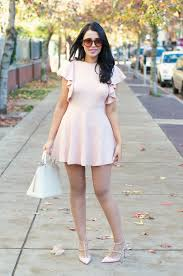 what to wear with a light pink dress gumboot glam blogger dress pastel dress pink dress light pink