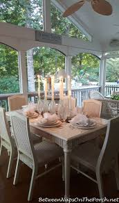 Romantic Table Settings Diy Candlelight Centerpiece For Dinner On The Porch