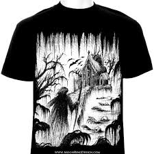 t shirt designs for sale creepy sawmp graphic for t shirt design by