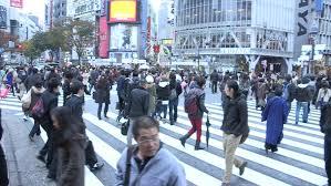 Tokyo Japan Circa November 2016 Crowds Of People Walking In Tokyo by Tokyo Japan Circa 2010 Pedestrians Walking In A Closed Street
