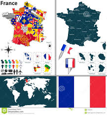 Map Of Brittany France by Map Of France Stock Vector Image 45082097