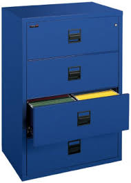 4 Drawer Lateral Filing Cabinet Fireking 4s3122 Cscml Four 4 Drawer Fireproof Lateral Filing Cabinet