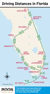 Road Trip Map 1 Week Florida Road Trip Miami The Atlantic Coast U0026 Orlando
