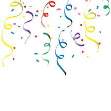 new years streamers streamers and confetti clipart 4 wikiclipart
