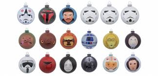 official star wars christmas ornaments bring the force to your