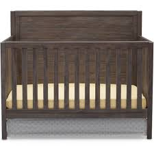 Best Baby Convertible Cribs by Delta Children Cambridge 4 In 1 Convertible Crib Rustic Gray