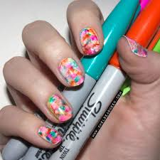 15 easy nail designs with sharpie pinterest inspired nail art