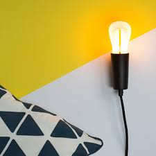 Diy Wall Sconce Plumen Sugru Diy Lighting Project Magnetic Wall Sconce Plumen