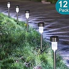 Landscaping Lights Solar Sunnest Solar Powered Pathway Lights Solar Garden