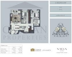 vida residence downtown floor plans