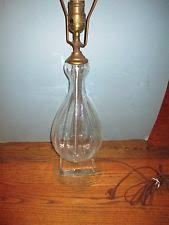 Colored Glass Table Lamps Blenko Lamp Ebay