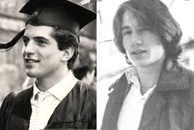 jfk jr young john f kennedy jr in 1978 and david duchovny in 1978 at the