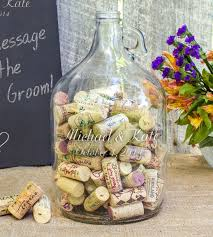 Wedding Wish Jar Personalized Wedding Wishes In A Bottle Guest Book Alternative