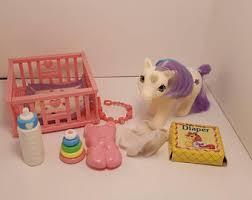 Pony Crib Bedding Pony Crib Set Etsy