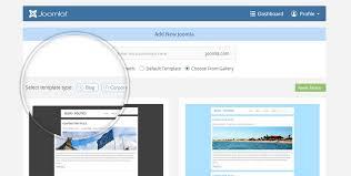 joomla blank template joomla com tutorials changing the template of your joomla com