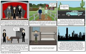 in cold blood ap lang project storyboard by yassindolliazal