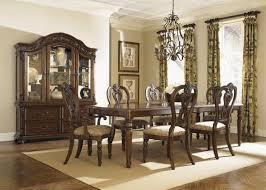 Dining Room Huffman Koos Furniture - Oak dining room sets with hutch