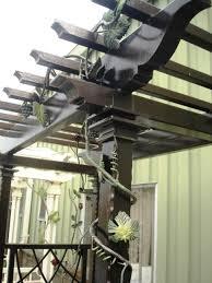 Wrought Iron Pergola by Pergola Salem Iron Works
