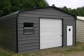 metal buildings wholesale rv carports newdealmetalbuildings com single garage with door