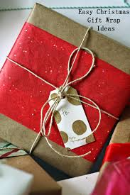 the semi frugal life easy christmas gift wrap ideas