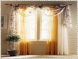 european style floral embroidery voile curtains tulle door window