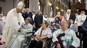 Japanese Comfort Women Stories Korean U0027comfort Women U0027 Meet With Pope Cnn Video