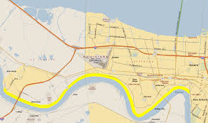 Maps New Orleans New Orleans Levee System Map Afputra Com