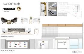 ocio design group san diego interior designer fashionphile presentation rendering