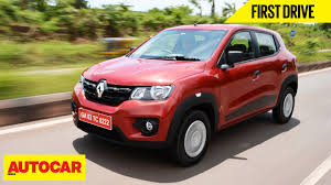 kwid renault 2015 renault kwid first drive autocar india youtube