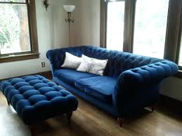 blue chesterfield sofa navy chesterfield sofa blue velvet awesome furniture luxurious