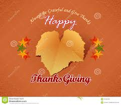 happy thanksgiving message with fabric texture backdrop and vine