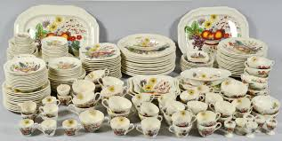 lot 698 265 pc copeland spode dinnerware