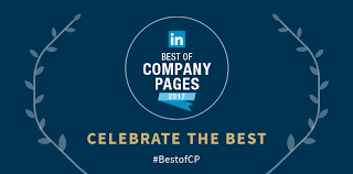 photo pages announcing linkedin s top 10 company pages of 2017 official