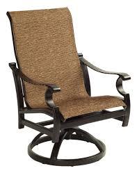 Swivel Rocker Patio Chair by Castelle Monterey Sling Swivel Rocker All Things Barbecue