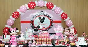 minnie mouse 1st birthday party ideas baby keira 1st minnie mouse birthday party baby shower ideas
