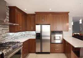 cuisine armoire brune design de cuisine projets robert design