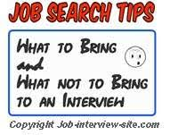 Bring Resume To Interview What Should You Take To A Job Interview What To Bring And What