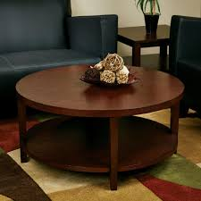 mahogany round coffee table coffee table design ideas
