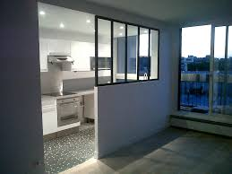 separation de cuisine en verre fabricant d escalier garde corps verrière pour votre intérieur