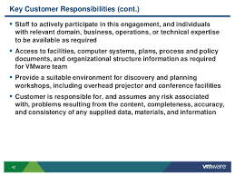 v mware operational readiness for cloud computing service