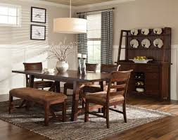 dining room table and bench intercon dining room bench creek trestle dining table bk ta 40104