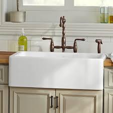 Kitchen Farm Sink Hillside  Inch Kitchen Sink From DXV - Kitchen farm sinks