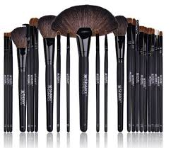 makeup brush set wool fibers amazon beauty deal