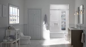Bath Shower Walls Choreograph Shower Wall And Accessory Collection Bathroom Kohler