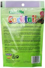 amazon com vitakraft chinchilla cocktail mixed fruit treat 4 5