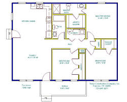The Lenox Floor Plan Tinker Construction Company Inc Floor Plans