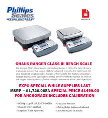 Ohaus Bench Scale Web Specials Phillips Scales Alaska Industrial Scales