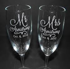 personalized glasses wedding best 25 engraved chagne flutes ideas on diy
