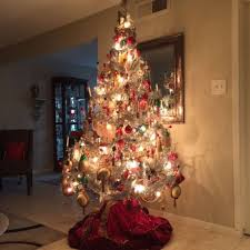 Artificial Decorative Trees For The Home Family Passes Christmas Tree Through Generations Houston Chronicle